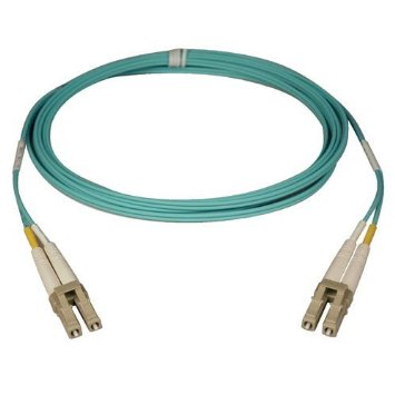 Tripp-Lite-N820-25M-25M-10Gb-MMF-Fiber-50-125-OM3-LSZH-Patch-Cable-LC-LC-Aqua-82ft