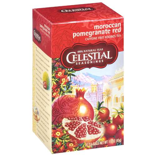Celestial Seasonings: Moroccan Pomegranate Red Rooibos Tea, 20 ct