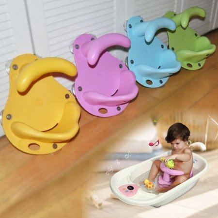 Baby Bath Tub Ring Seat Infant Child Toddler Kids Anti Slip Safety Security Chair Non-slip Baby Care Bath Accessory