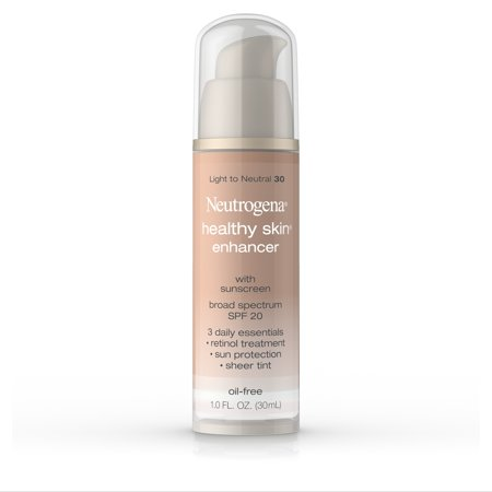 Neutrogena Healthy Skin Enhancer, Broad Spectrum Spf 20, Light To Neutral 30, 1 (Best Foundation For 50 Year Old Skin)
