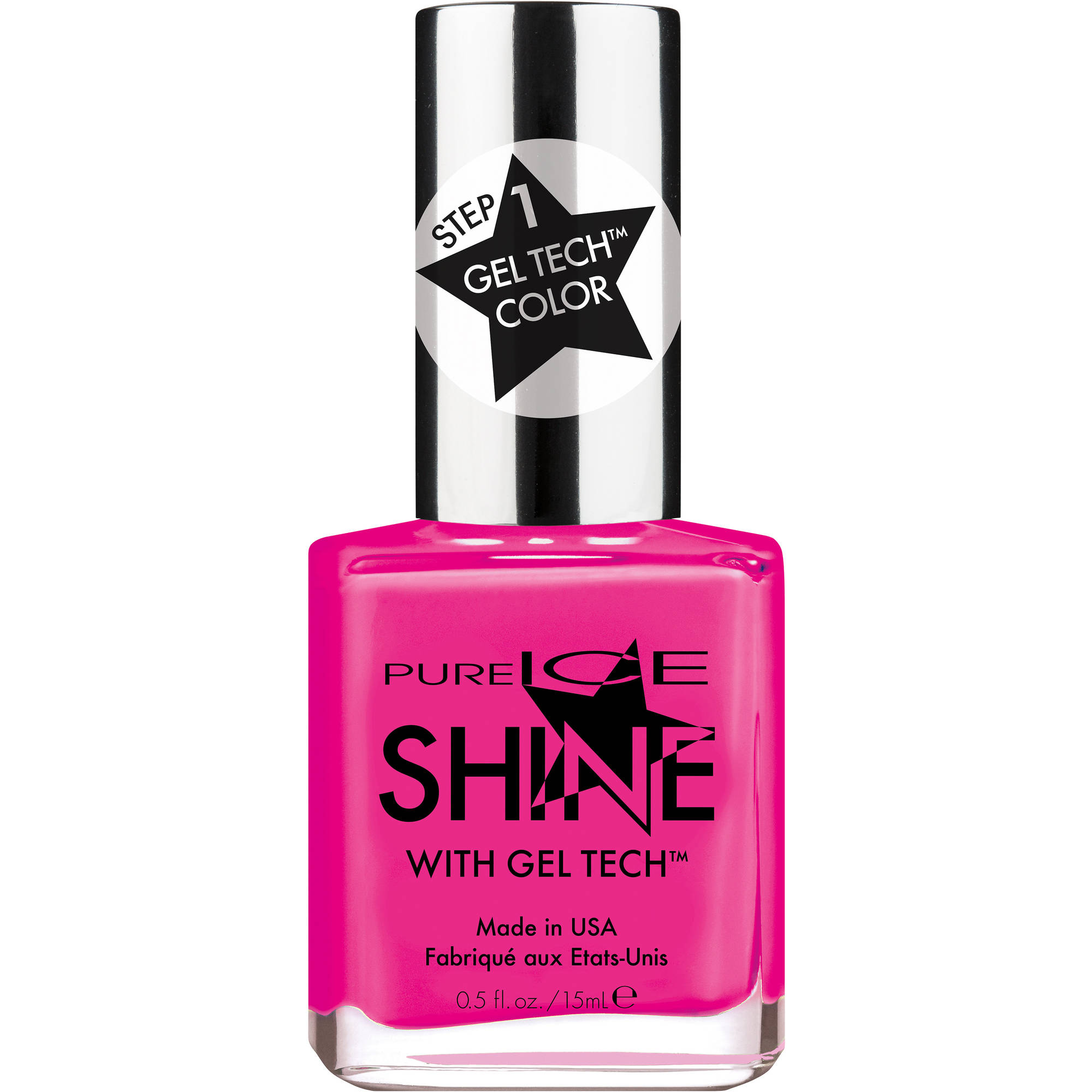 Pure Ice Shine with Gel Tech Nail Polish, Crop Top, 0.5 fl oz