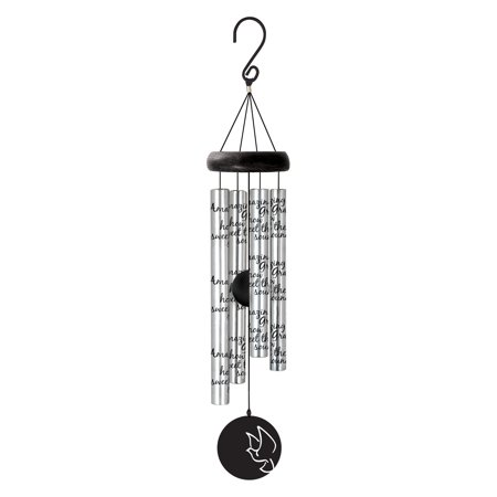 Carson Home Accents Amazing Grace Wind Chime with Adjustable
