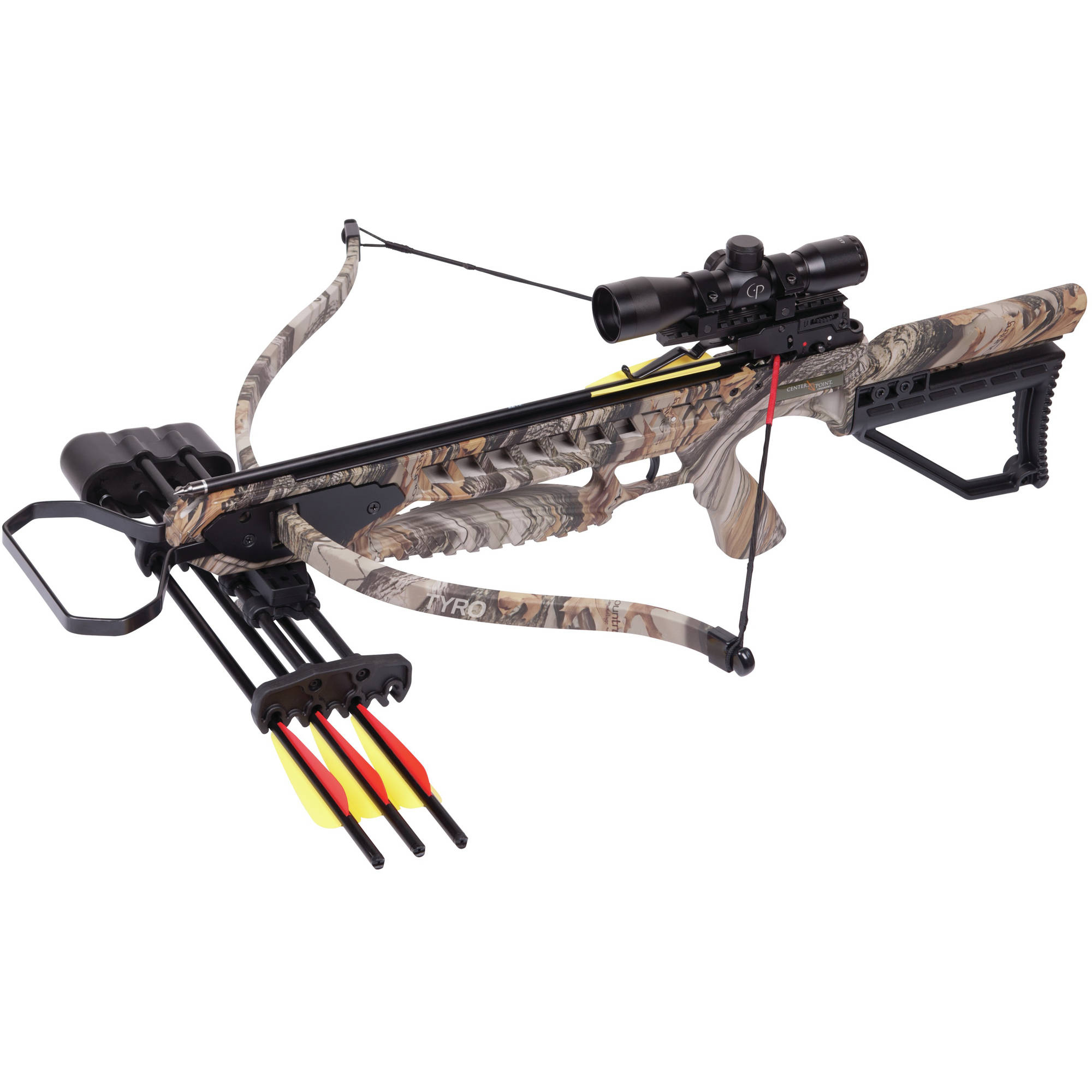 CenterPoint Tyro Recurve Crossbow, Camo by Crosman