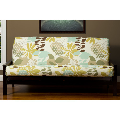 Siscovers English Garden Zipper Futon Slipcover