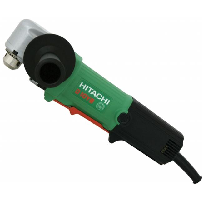 Hitachi D10YB 4.6 Amp 3/8 in. EVS Variable Speed Right Angle Drill