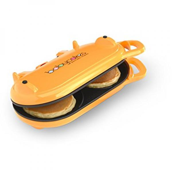 Babycakes Flip-Over Pancake Maker Orange