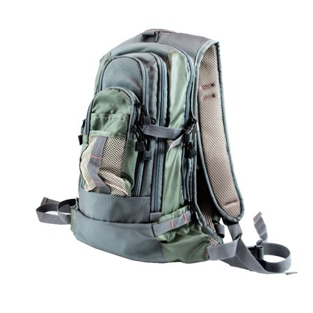 Fly Fishing Backpack Chest Pack Combo Set -2 packs, 1 Free Fly Box