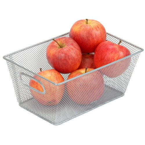YBM Home Mesh Storage Basket