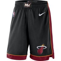 Miami Heat Nike 2019/20 Icon Edition Swingman Shorts - Black
