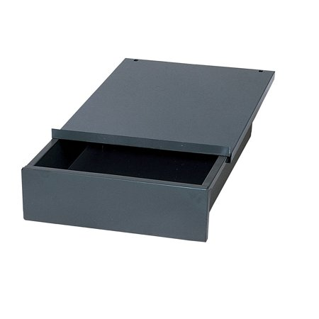 WD1218 Industrial Gray Steel Bench Drawer, 4