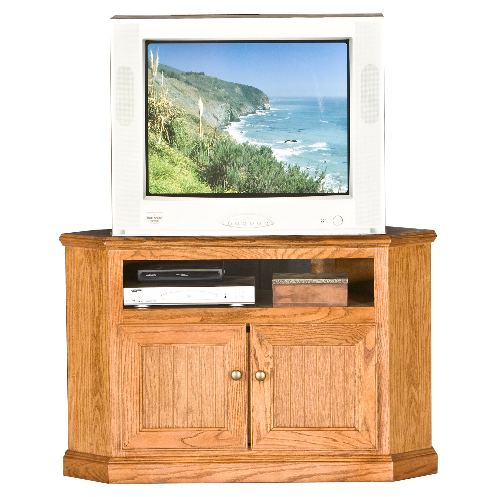 Eagle Furniture Heritage Customizable 41 In Corner Tv Stand