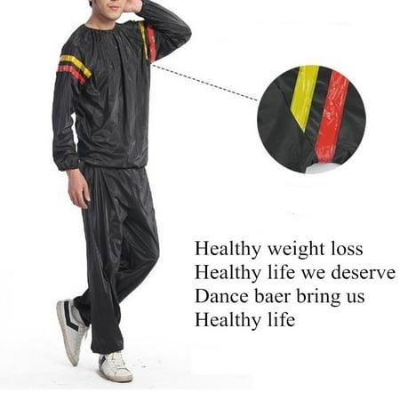 Heavy Duty Sweat Suit Sauna Suit Exercise Gym Fitness