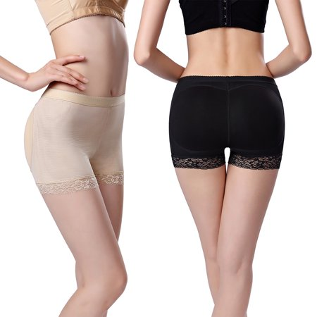 4d881e46b921 Zerone - 2 Colors Sexy Women Butt Shaping Lifting Panties Padded Briefs  Fake Ass,Padded Panties, Slimming Pantie - Walmart.com