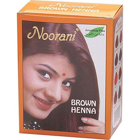 Noorani Henna Based Hair Color and Herbal Powder Ammonia Free- (Herbal Henna)