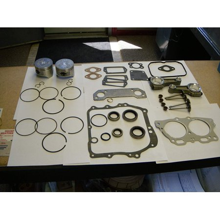 EZGO GOLF CART ENGINE REBUILD KIT & GASKETS 295CC WITH STANDARD PISTON AND RINGS. LOWER 48 US STATES ONLY! ROBINS ENGINE 1996-2002 Piston Rebuilding Kit
