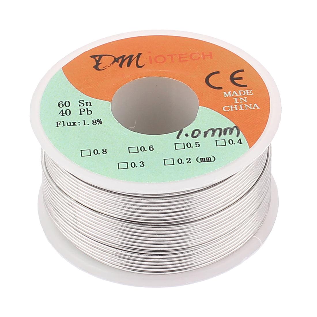 DMiotech 1mm 150G 60/40 Rosin Core Tin  Roll Soldering Solder Wire