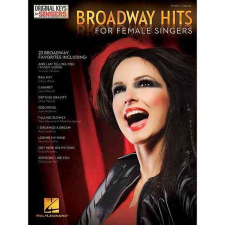Broadway Hits For Female Singers  Piano Vocal