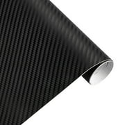 30cmx127cm 3D Carbon Fiber Vinyl Car Twill Wrap Sheet Roll Film Car Stickers Decals for Motorcycle Car Automobiles Styling Accessories black