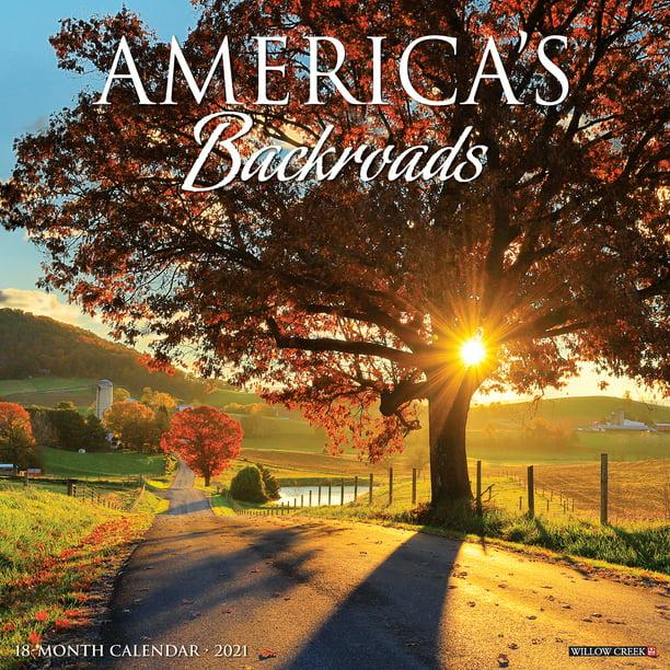 Willow Creek Press 2021 America's Backroads Wall Calendar ...
