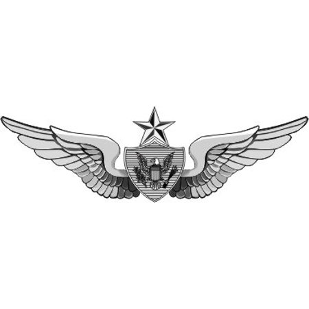 MAGNET US Army Senior Aircrew Wings Decal Magnetic Sticker - Aircrew Wings