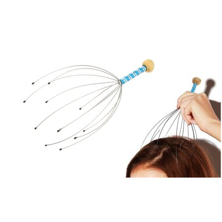 Handheld Stainless Steel Claw Scalp Head Massager - 2 pack (Claw Scalp Massager)