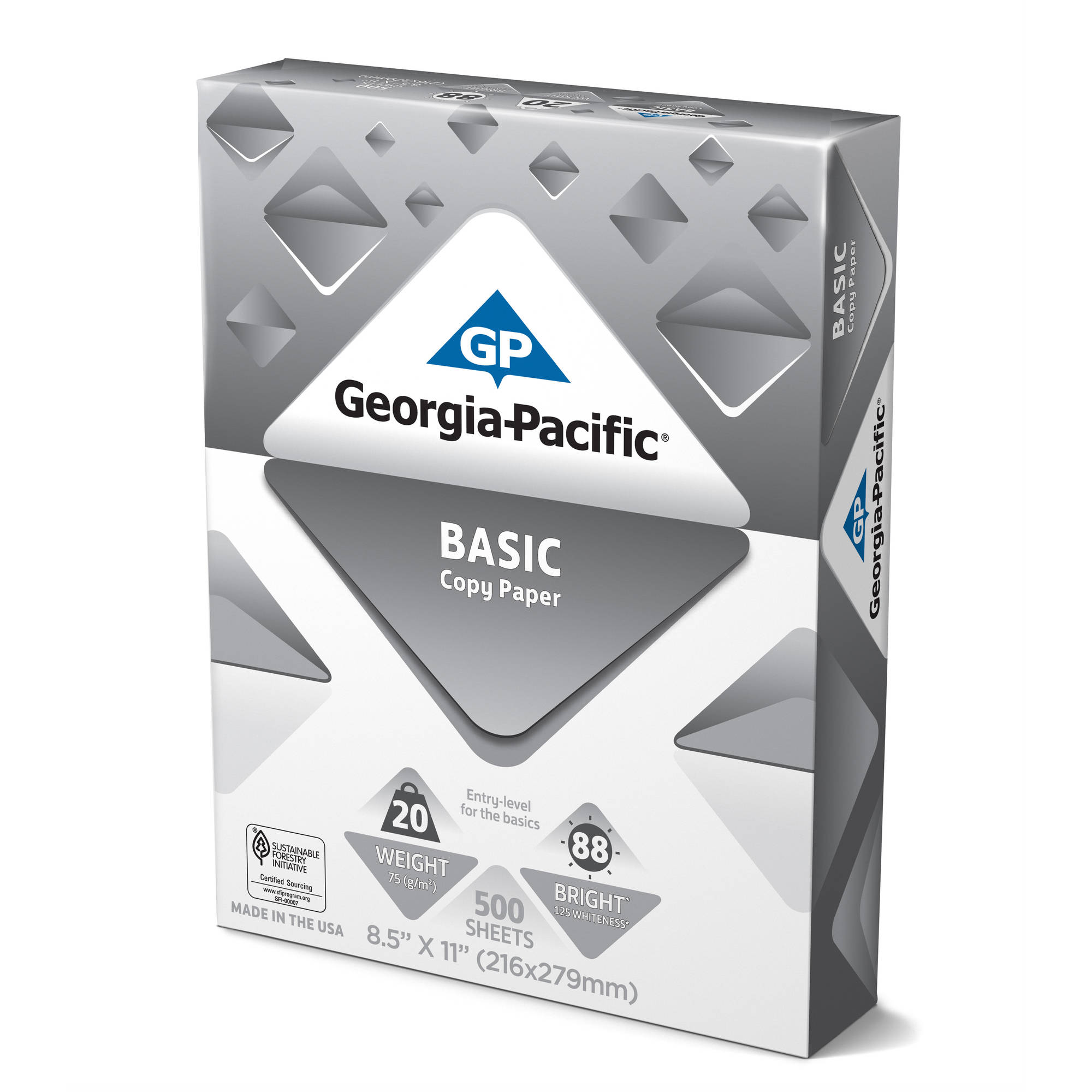 Georgia Pacific Basic Copy Paper, 8.5  Resume Paper Walmart