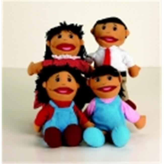 Marvel Education Asian Family Puppet Set