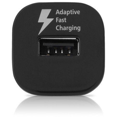 Original Quick Fast USB Car Charger + Type C Cable Compatible with Sony Xperia XA1 Phones - up to 50% Faster Charging - Black - image 6 of 9