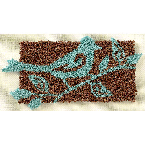 """Dimensions Bird On a Branch Punch Needle Kit, 7"""" x 5"""""""