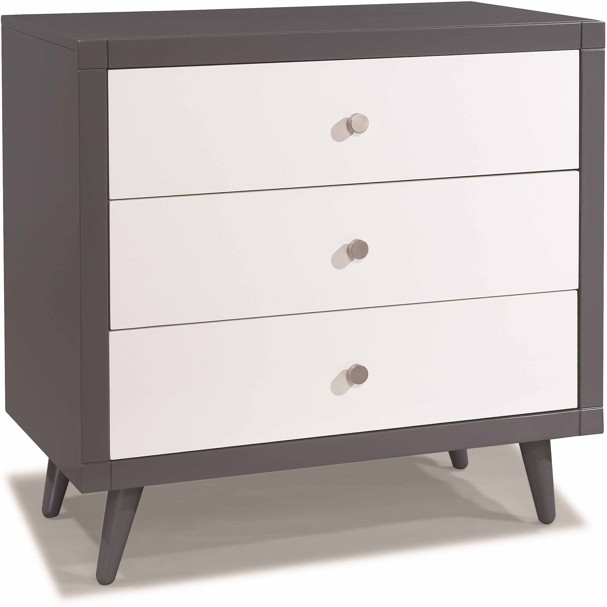 Storkcraft Two-Tone Bayshore 3-Drawer Dresser, Choose Your Finish