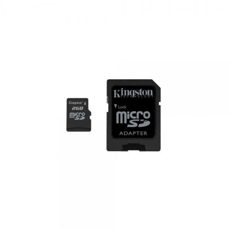 2 Gb Microsdhc Memory - Kingston 2 GB microSD Flash Memory Card SDC/2GB