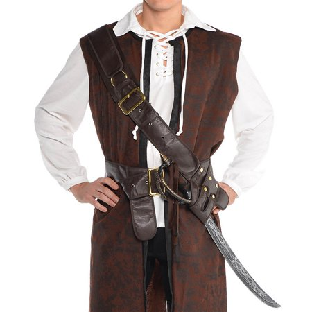 Pirate Bandolier Belt Adult Costume Accessory - Standard - Costume Bandolier