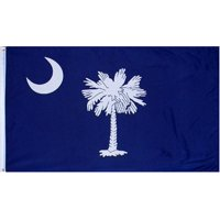 South Carolina 3ft x 5ft Printed Polyester Flag, Poly flag By Ruffin,USA