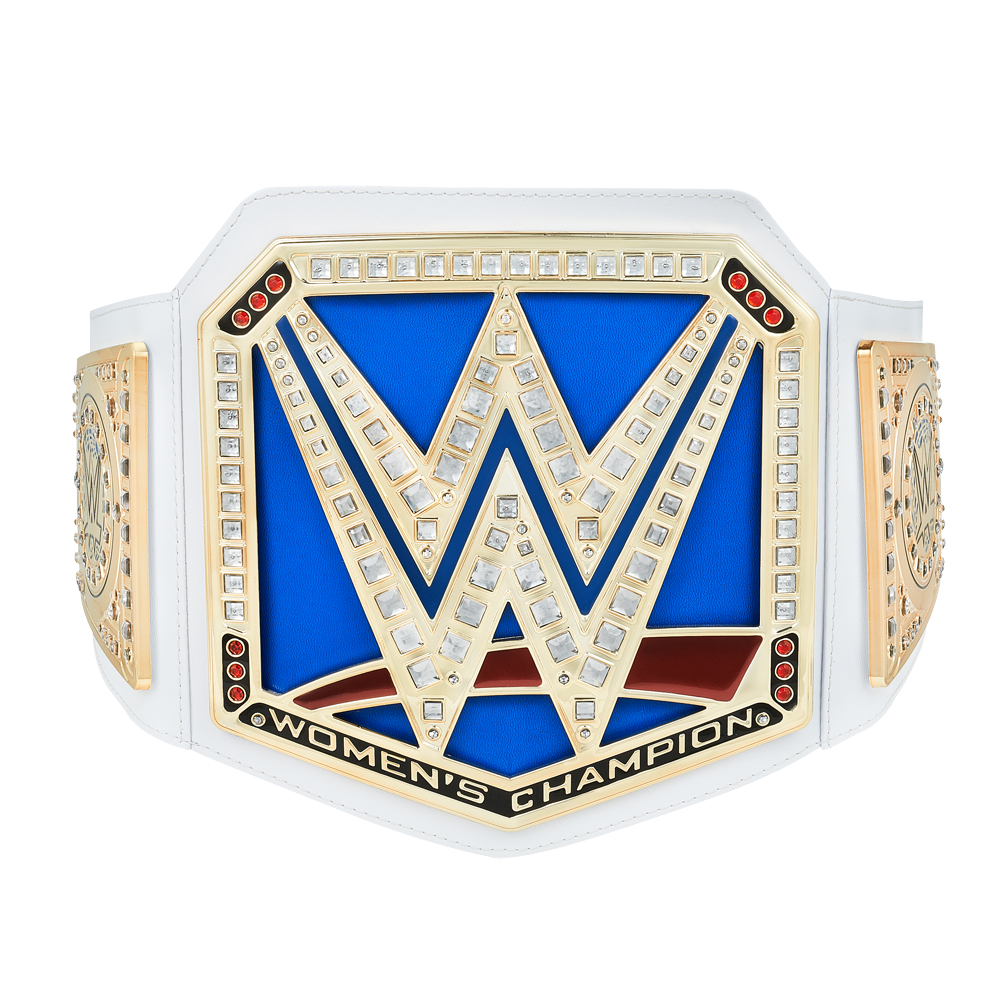 Official Wwe Authentic Smackdown Women's Championship Toy Title Belt Gold