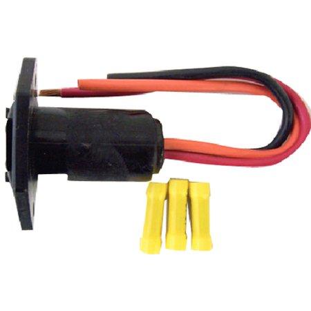 Rig Rite OEM Retrofit Trolling Motor Receptacle, 3 Wire, (Minn Kota Trolling Motor Plug And Receptacle)