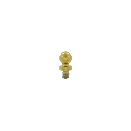 Solid Brass Cabinet Finial Acorn Tip in PVD (Set of 10)