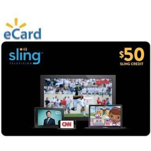 Sling TV $50 Card (Email Delivery)