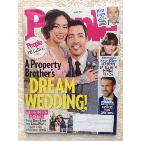 Property Brothers Wedding.People Magazine May 28 2018 Property Brothers Wedding Matt Lauder Ryan Reynolds