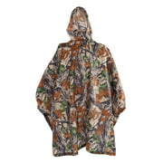 HERCHR Outdoor Sports Waterproof Poncho Multifunctional Lightweight Camouflage Rain Coat,Rain Coat, Waterproof Poncho