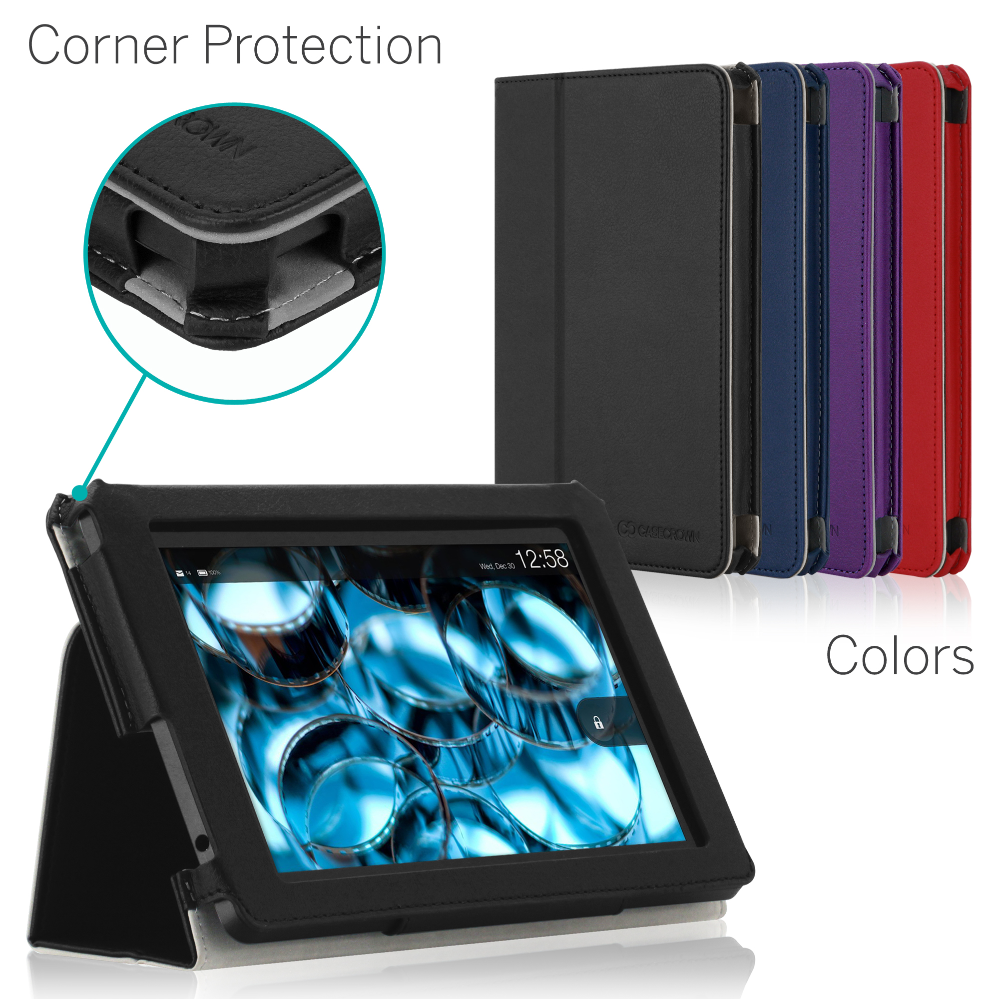 CaseCrown Bold Standby Pro Case for 2013 All-New Amazon Kindle Fire HD 7 Inch Tablet (NOT for 2012 Kindle Fire HD 7)