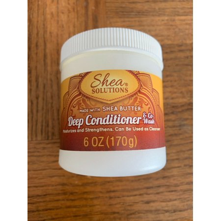 Shea Solutions Deep Conditioner And Co-Wash 6 oz