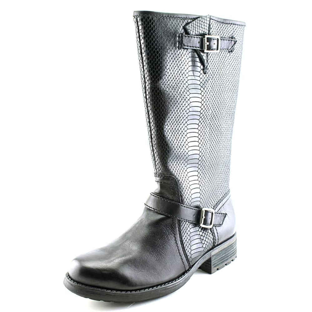 7 For All Mankind Nova Women  Round Toe Leather  Mid Calf Boot