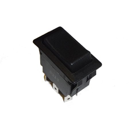 Polarity Reverse DC Motor Control Rocker Switch (Momentary - 30 Amp) ()