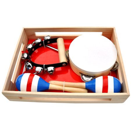 Schoenhut 4-Piece Band In A Box This Helps Develop Listening Skills And More - image 1 of 2