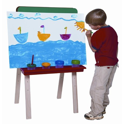 Wood Designs Double Sided Board Easel