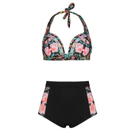 0d1a945907baf Phoebe Cat Womens Swimwear Bikini Set for Summer Beach, Summer Two Piece  Bandage Push-Up Padded Swimsuits for Women, P2879BS Two Piece Bathing  Swimwear ...