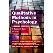 Qualitative Methods In Psychology: A Research Guide - eBook