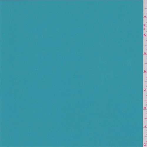 Turquoise Blue Jersey Knit, Fabric By the Yard