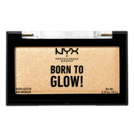 Easy Halloween Makeup Tutorial For Girls (NYX Professional Makeup Born to Glow Highlighter Singles, Chosen)