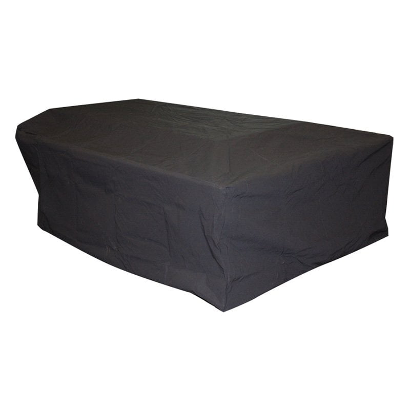 rectangle vinyl fire table cover walmartcom
